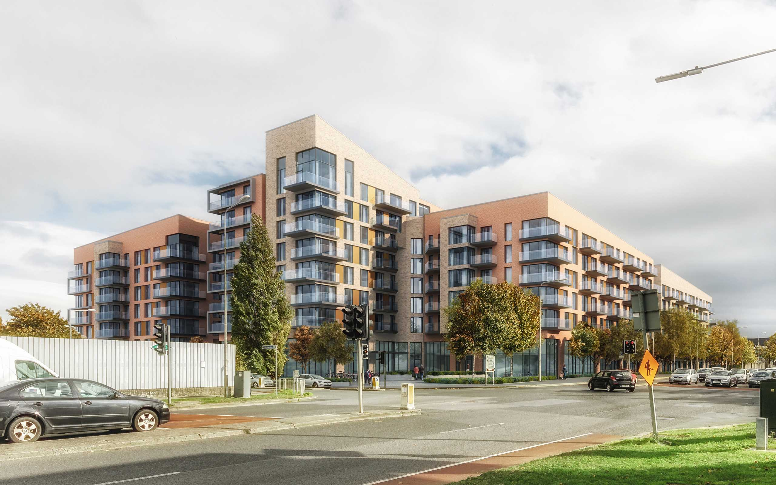 Architectural CGI of Airton Road Development, Tallaght