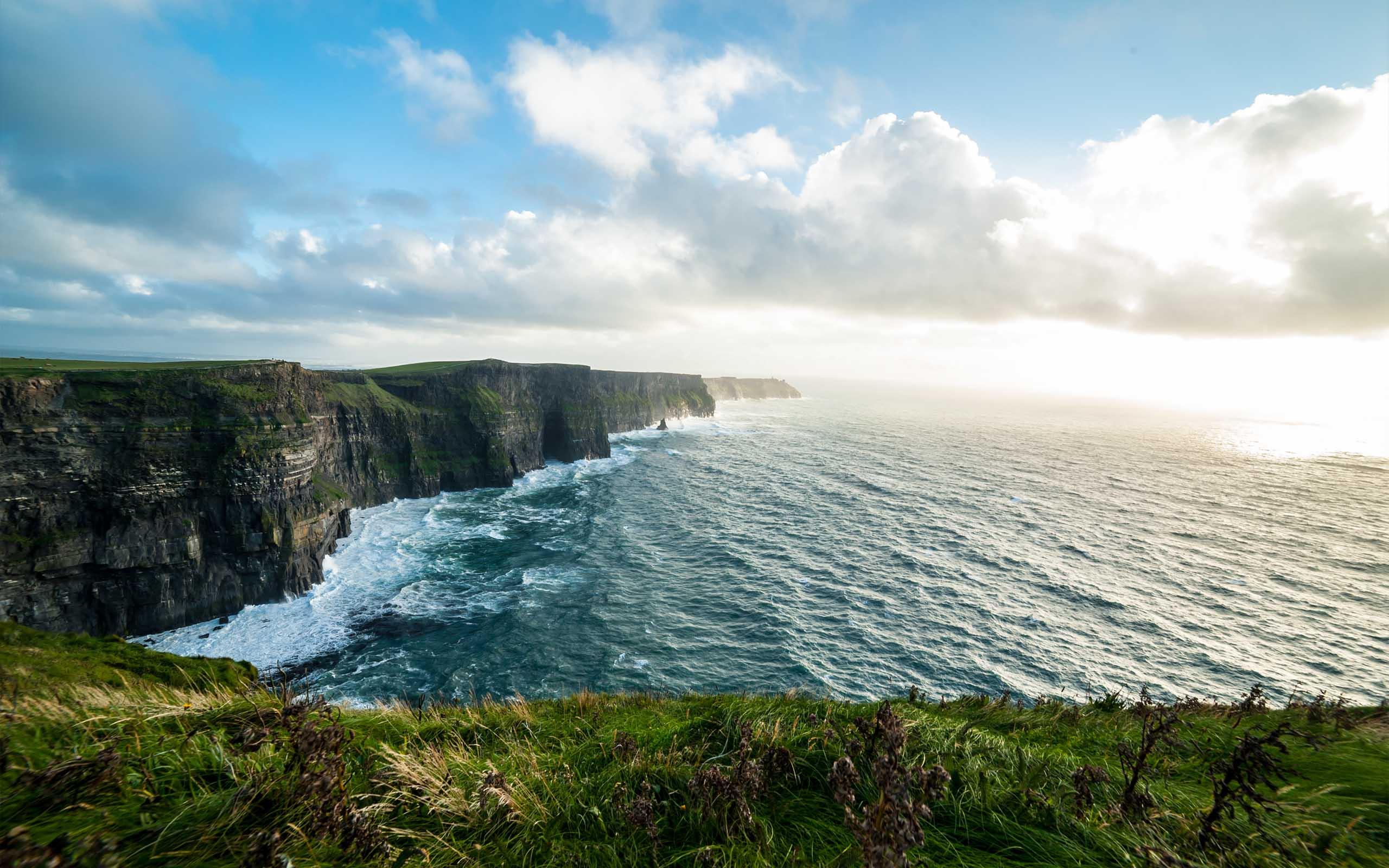The Cliffs of Moher 3D virtual tour.