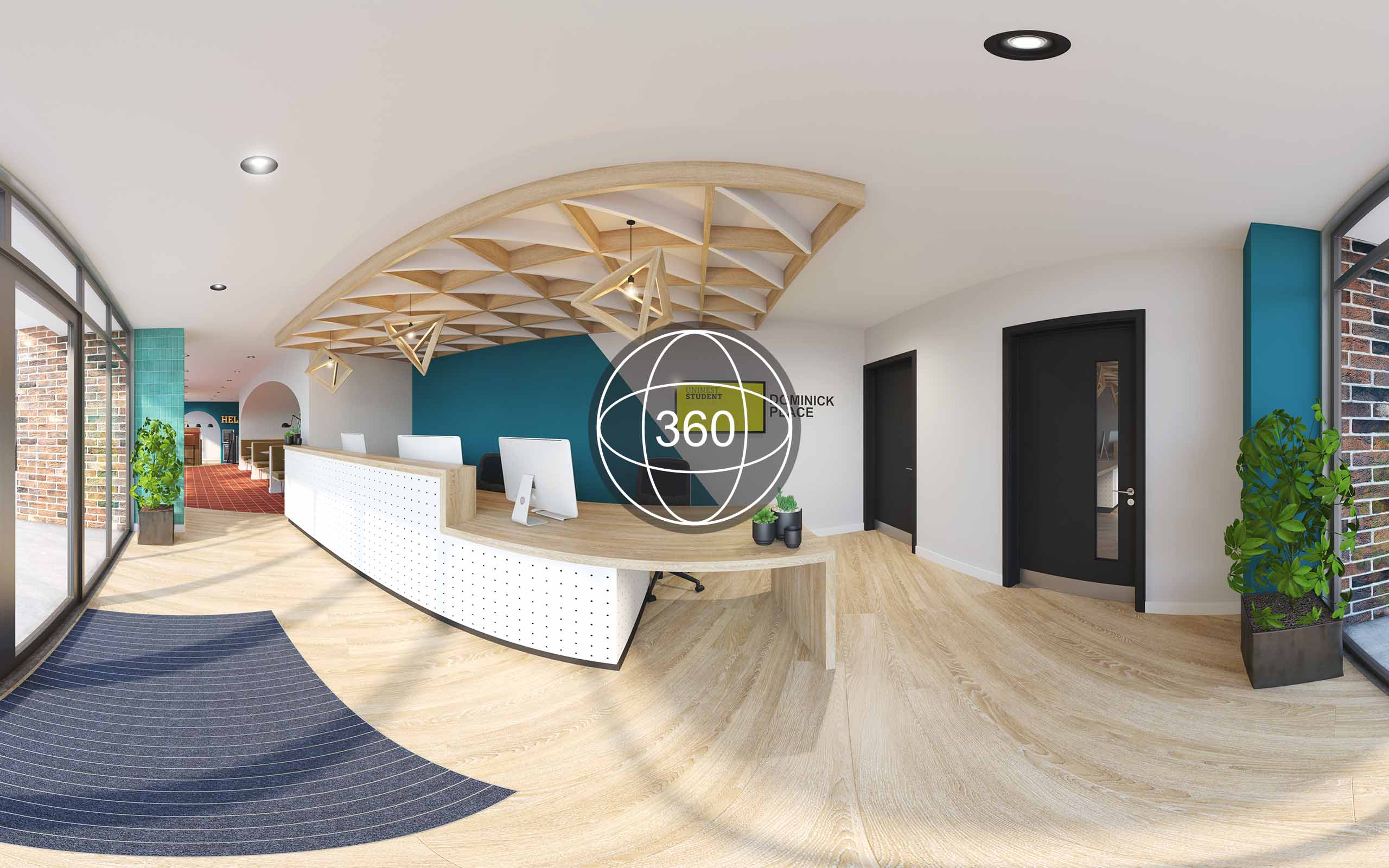 Off plans 360 virtual tour of Dominick Place student accommodation in Dublin 7.