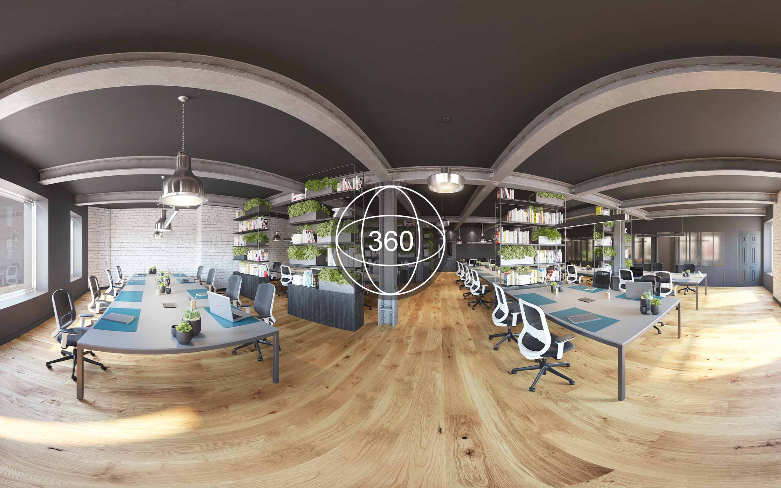 Off plans 360 virtual tour of Iconic Offices' The Masonry in Dublin 8.