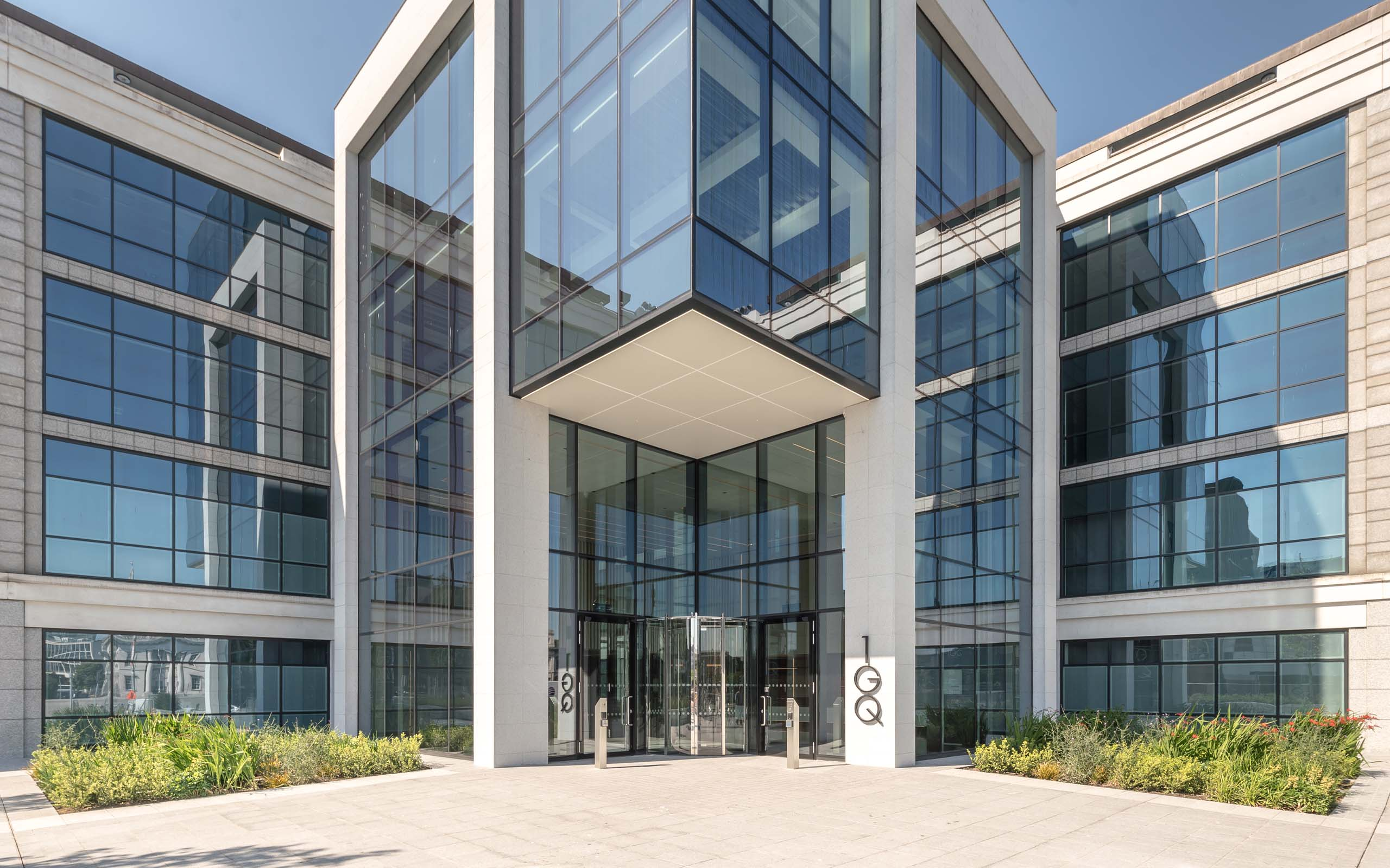 Commercial Photography of the 1GQ Building in Dublin City.