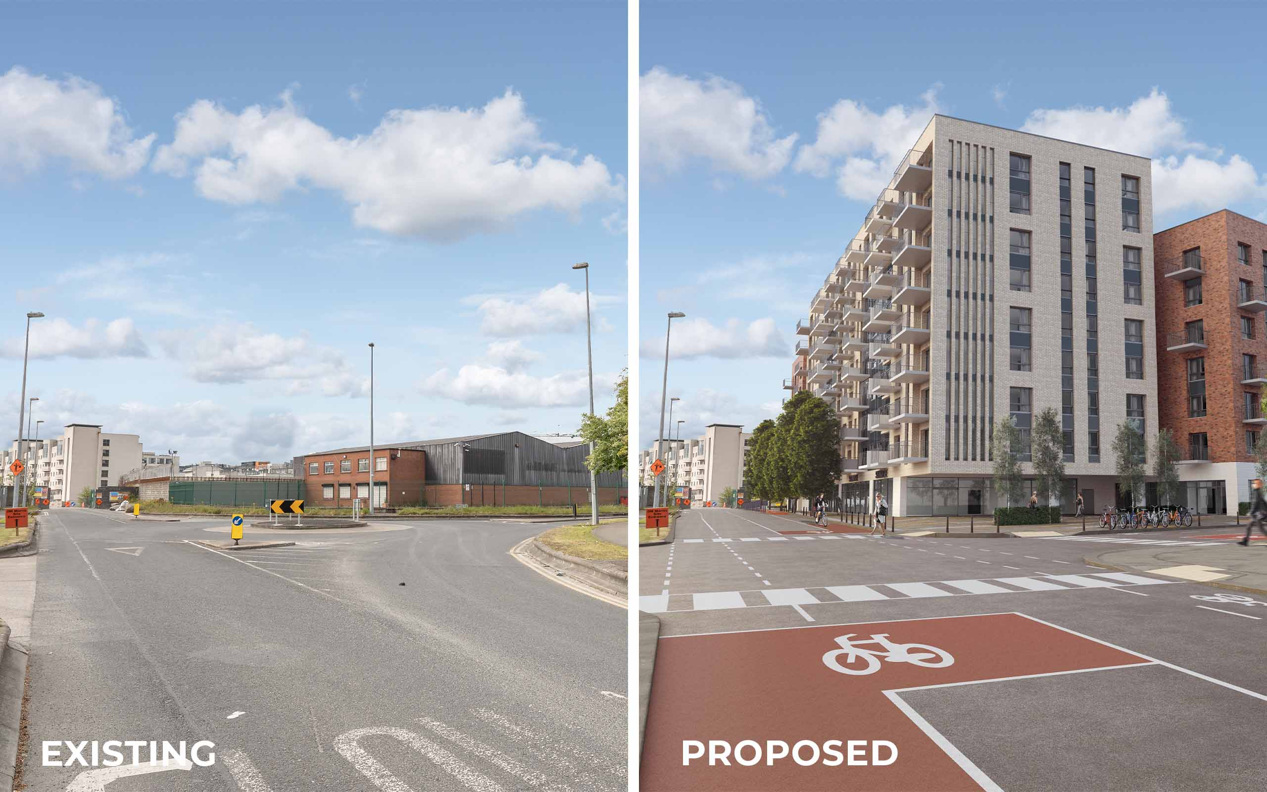 Verified View Montage of Apartment Development in Cookstown.