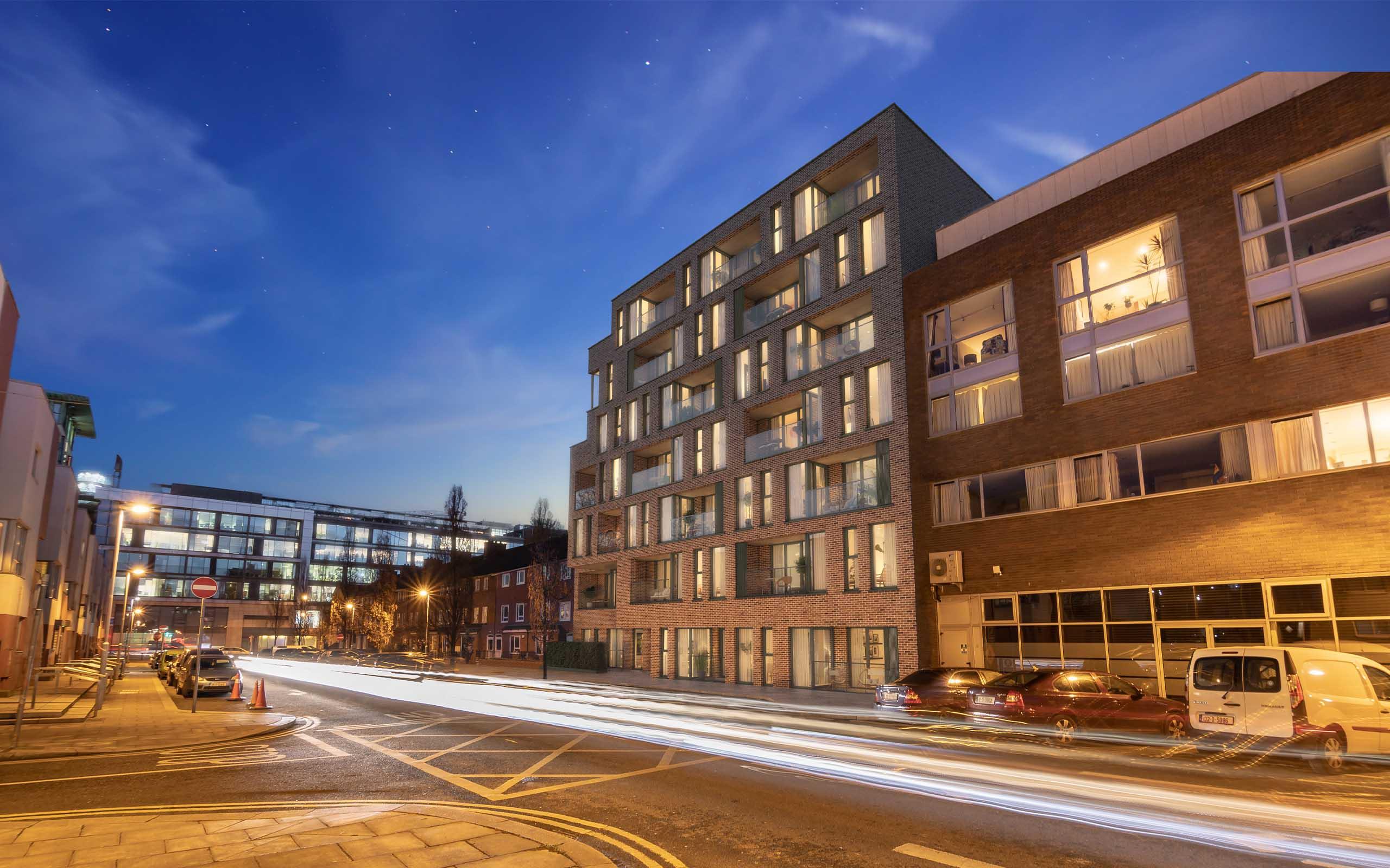Presentation photomontage of 19/20 Blackhall Street in Smithfield