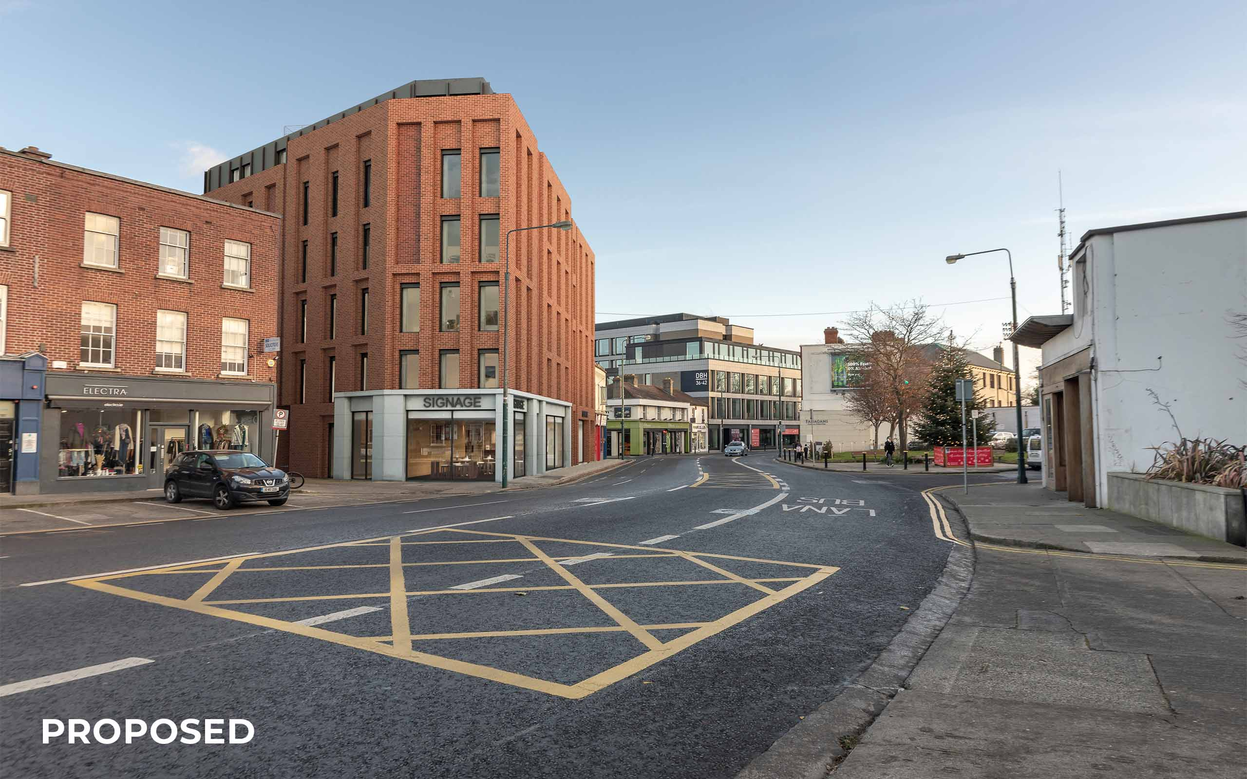 Verified View Montage of Mixed- Use Development, Donnybrook (proposed).