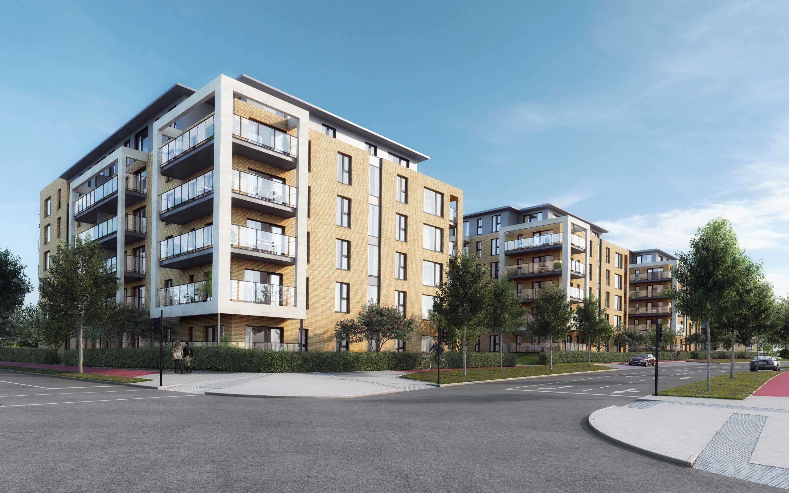 880 Units at Cooldown Commons and Fortunestown, Citywest. 3D Visualisation by 3D Design Bureau_
